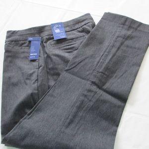 NWT - Apt. 9 gray pull-on pants - sz 12P - $48.00
